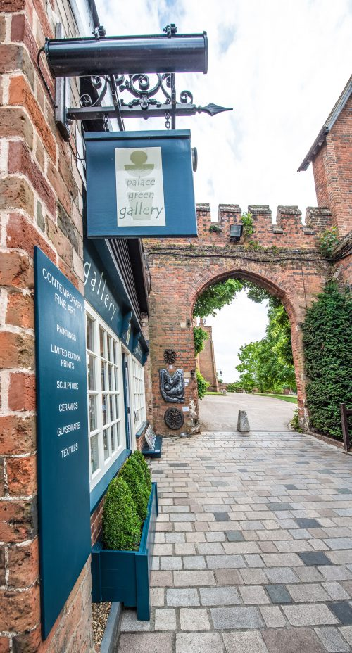 Palace Green Gallery | Stable Yard at Hatfield House | Striking Places Photography