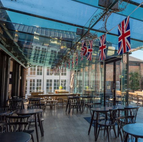 Coach House Restaurant | Stable Yard at Hatfield House | Striking Places Photography