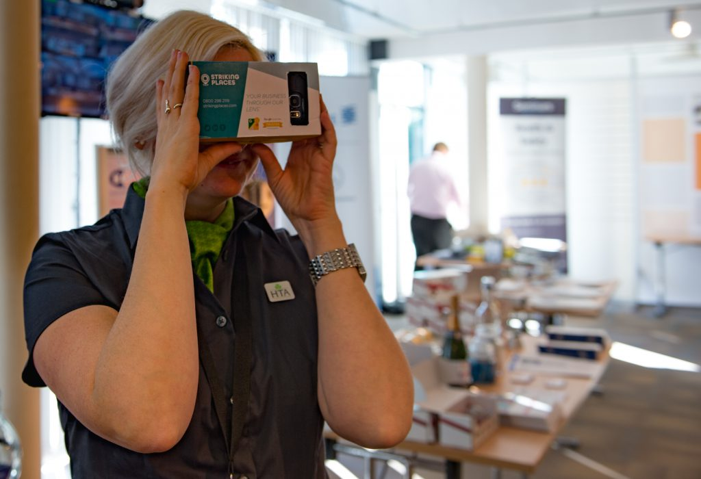 HTA Technology Conference | Google Cardboard | Striking Places Photography
