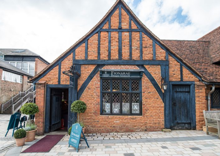 Fiona Rae | Stable Yard at Hatfield House | Striking Places Photography