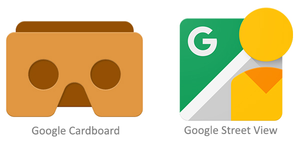 Google Cardboard & Google Street View
