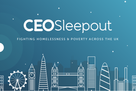 CEO Sleepout London | Striking Places Photography