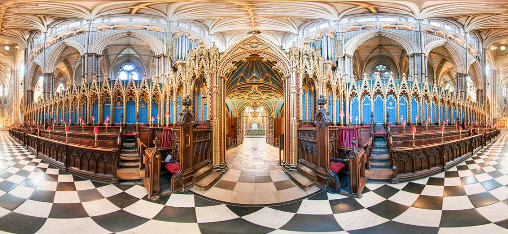 Photosphere or panorama from the Westminster Abbey Virtual Tour collection by Striking Places Photography