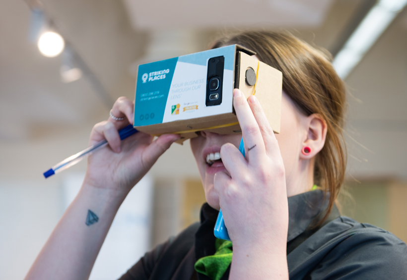 HTA Technology Conference Google Cardboard | Striking Places Photography