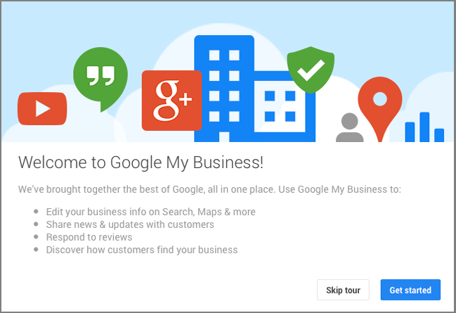 Welcome to Google My Business | Striking Places Photography
