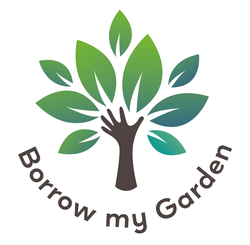 borrow my garden logo