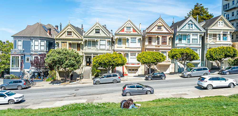 Houses, The Painted Lady Houses in San Francisco