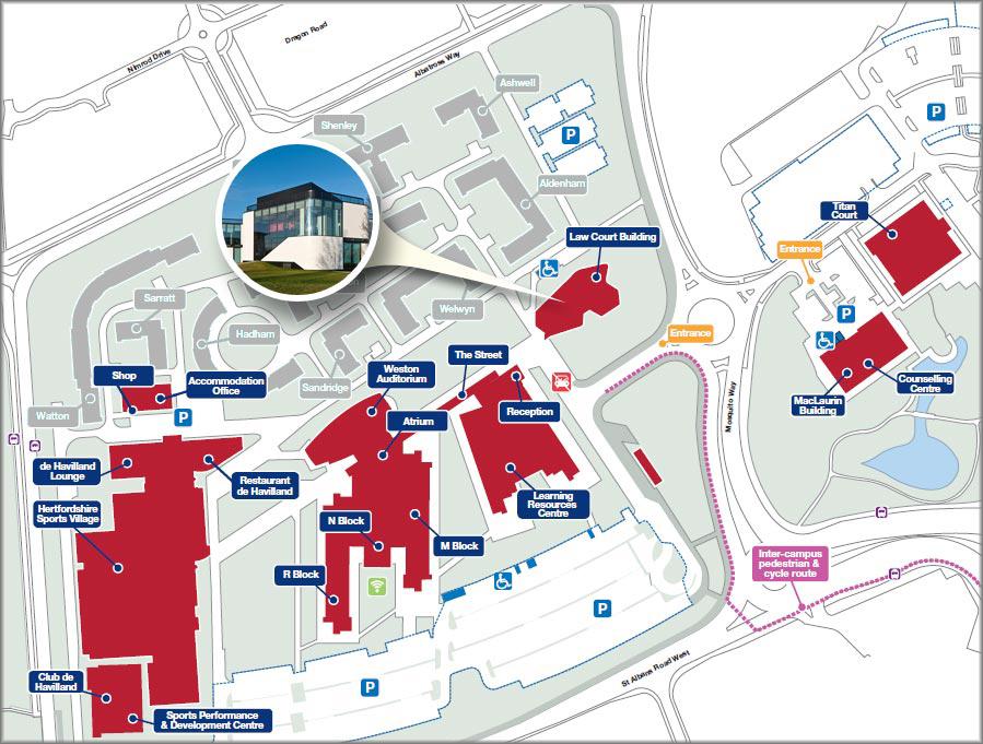 hertfordshire university campus map University Virtual Tour Striking Places hertfordshire university campus map